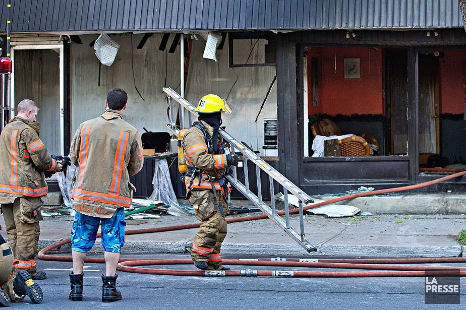 Un incendie a causé des dégâts considérables à... (Photo Patrick Sanfaçon, La Presse)