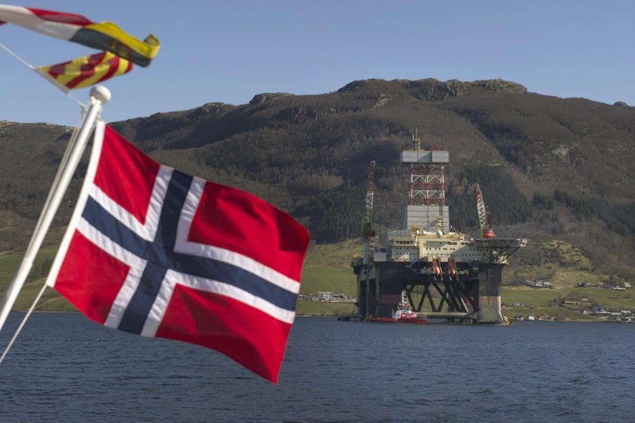 La Norvège, bien que plus gros producteur de... (PHOTO Kristian Helgesen, ARCHIVES Bloomberg)
