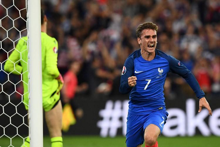 Antoine Griezmann a inscrit le but de la... (PHOTO AFP)