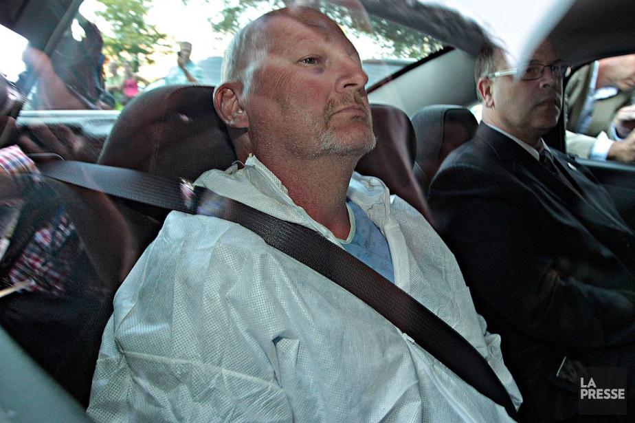 Richard Henry Bain est l'auteur présumé de l'attentat... (PHOTO PATRICK SANFAÇON, ARCHIVES LA PRESSE)