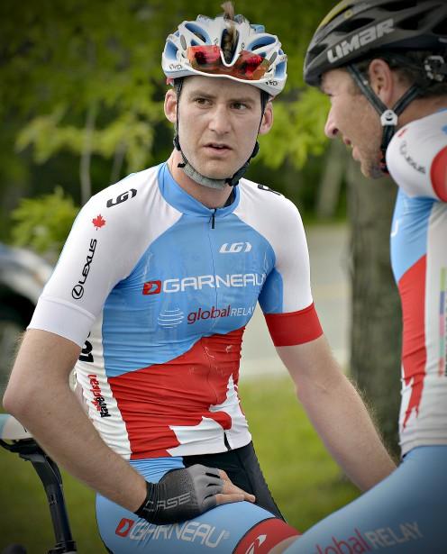 Première étape du 31e Tour cycliste de Beauce (Hugo Houle) (Le Soleil, Pascal Ratthé)
