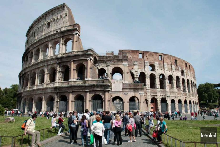 L'amphithéâtre Flavien, plus connu sous le nom de... (Photo archives Le Soleil)