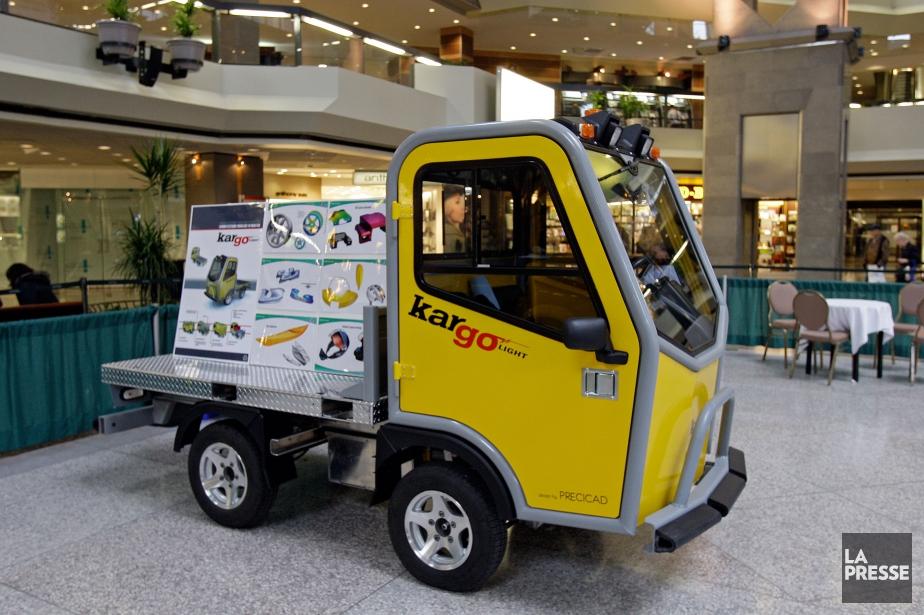 Précicad est le concepteur des véhicules électriques recyclables... (Photo archives La Presse)