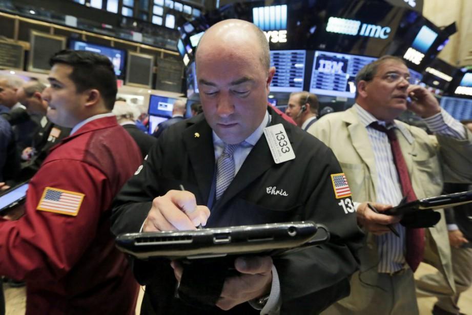 Les marchés boursiers nord-américains ont terminé la... (Photo Richard Drew, AP)