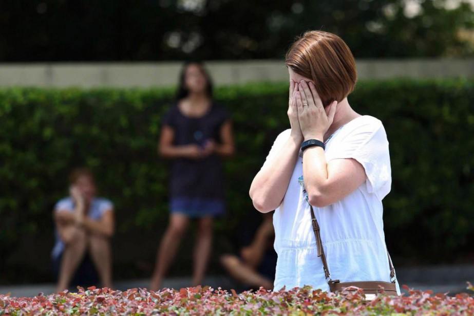 La plus grave tuerie perpétrée aux États-Unis a... (PhotoGregg NEWTON, Agence France-Presse)
