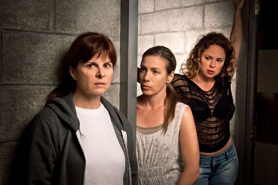 Guylaine Tremblay (Marie Lamontagne), Céline Bonnier (Suzanne Beauchemin)... (Photo fournie par Radio-Canada)