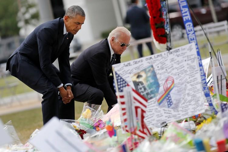 Le président Obama et son vice-président Joe Biden... (PHOTO REUTERS)