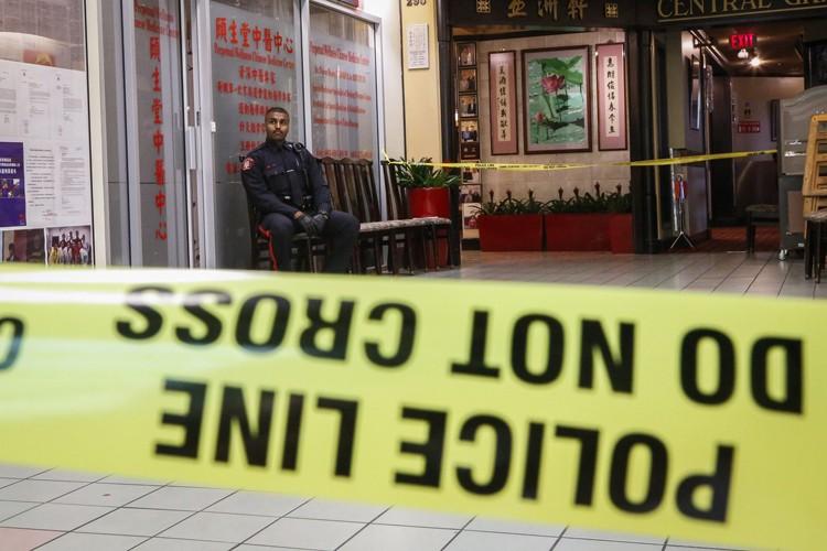 Un homme est mort, jeudi, après avoir été poignardé dans une... (PHOTO PC)