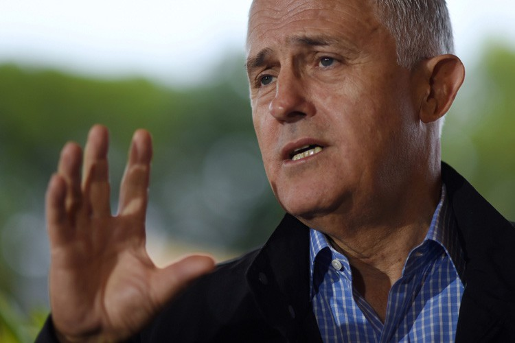 Malcolm Turnbull... (PHOTO REUTERS)