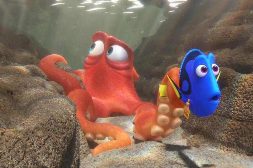 Dans Finding Dory, on retrouve les sympathiques personnages... (Fournie par Disney)