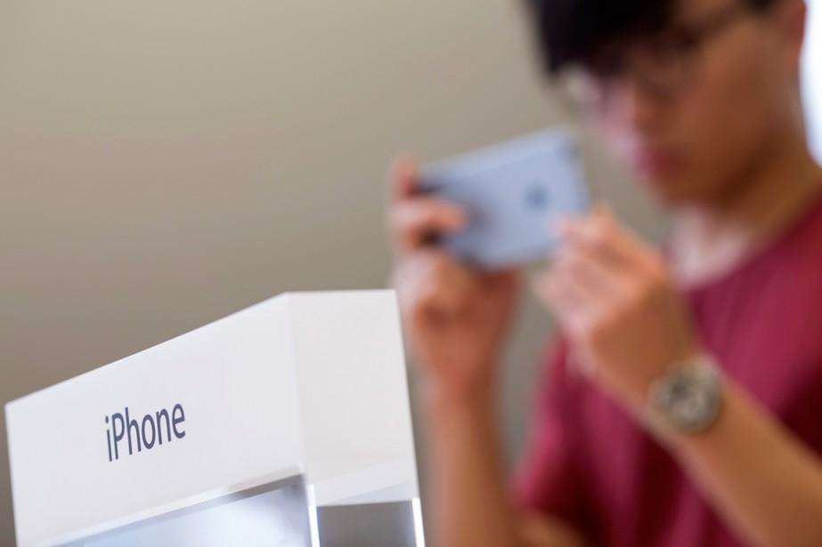 Apple pourrait être contraint de... (PHOTO JEROME FAVRE, ARCHIVES BLOOMBERG)