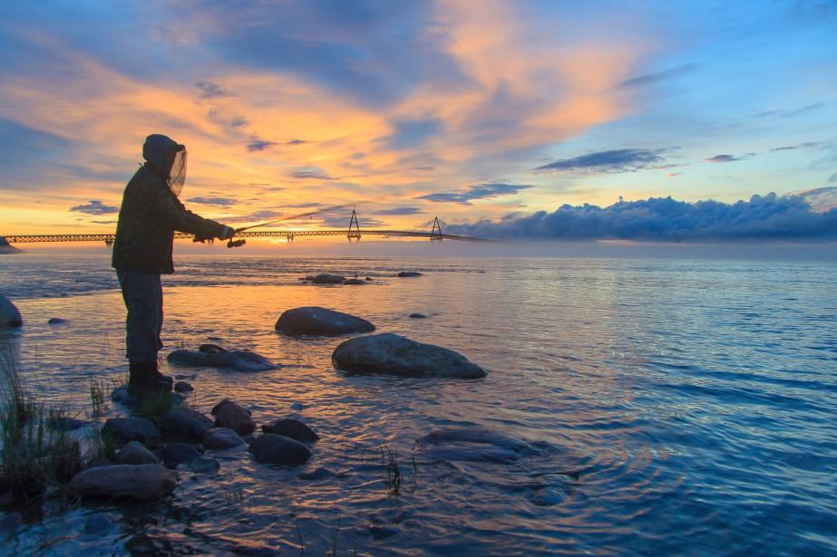 Photo prise parRon Bonnetrouge, à Fort Providence, dans les Territoires du Nord-Ouest. ()