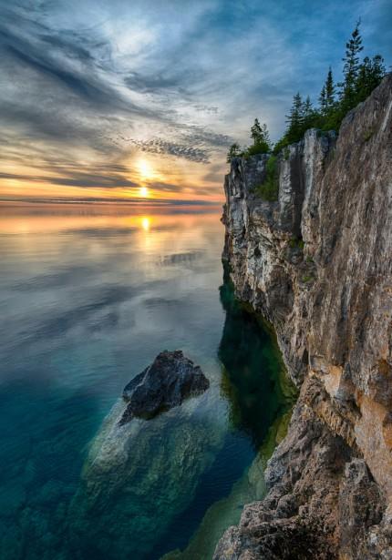 Photo prise parJim Davis, Parc national de Péninsule-Bruce, en Ontario. ()