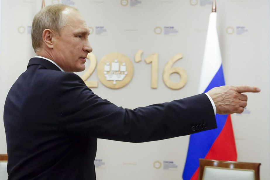 Vladimir Poutine... (PHOTO Sergey Chirikov, AP)