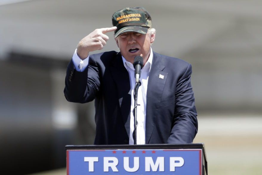 Donald Trump le 3 juin dernier.... (Photo Rich Pedroncelli, AP)