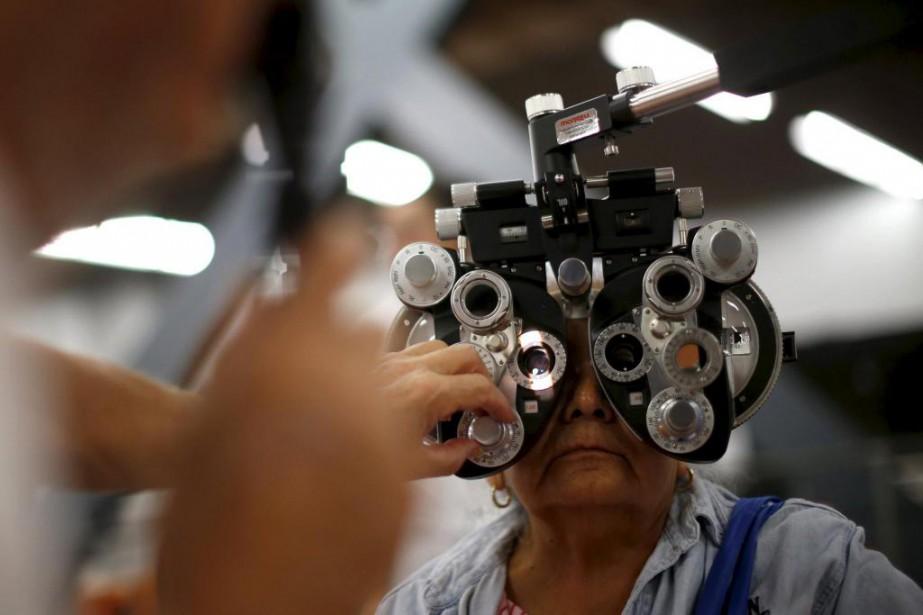 La rétinite pigmentaire touche une personne sur 4000.... (PHOTO LUCY NICHOLSON, ARCHIVES REUTERS)