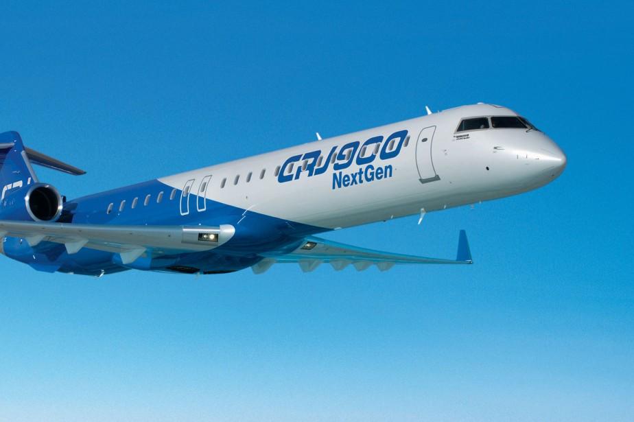 UnCRJ900.... (Photo fournie par Bombardier)