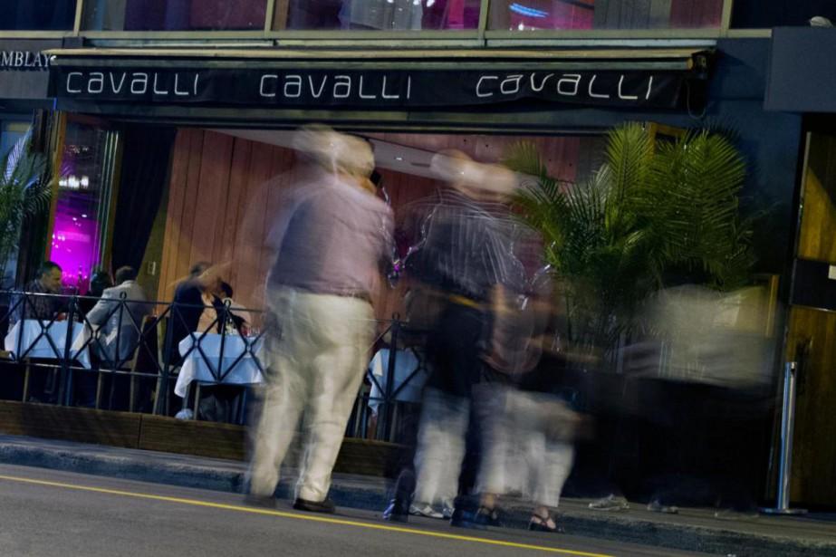 Aujourd'hui fermé, le Cavalli était connu pour avoir... (photo olivier jean, archives la presse)