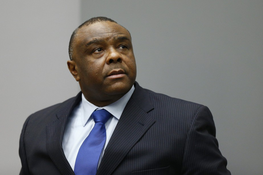 Jean-Pierre Bemba à La Haye, le 21 juin.... (PHOTO Michael Kooren, archives reuters)