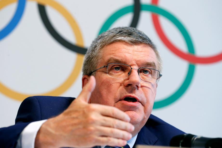 Le président du Comité international olympique, Thomas Bach.... (Photo Denis Balibouse, Reuters)