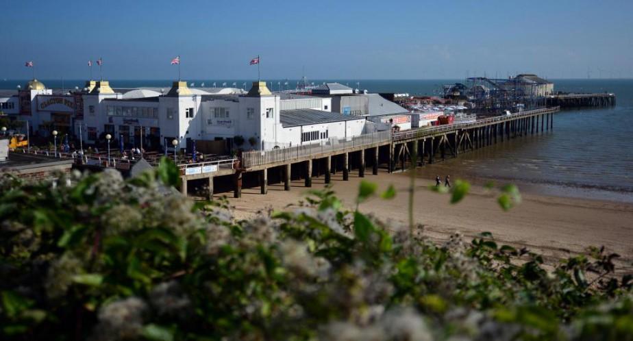 Clacton-on-Sea, bourgade de 55000habitants située à une heure... (PHOTO CARL COURT, ARCHIVES AGENCE FRANCE-PRESSE)