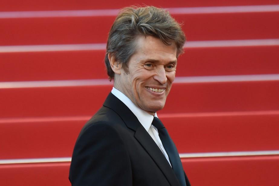 Willem Dafoe était présent au Festival de Cannes... (PHOTO ARCHIVES AFP)