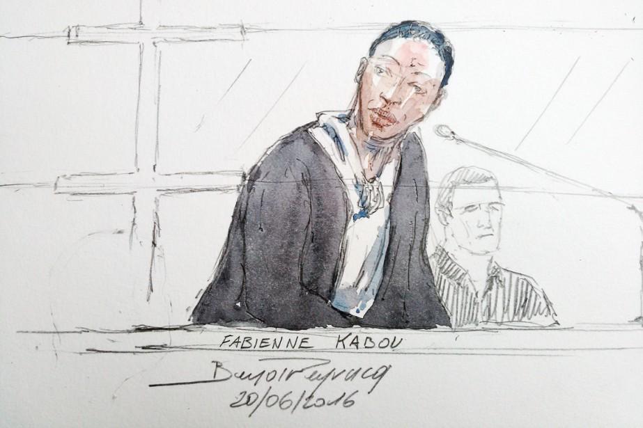 Fabienne Kabou subit son procès pour homicide volontaire... (ILLUSTRATION  BENOIT PEYRUCQ, AFP)