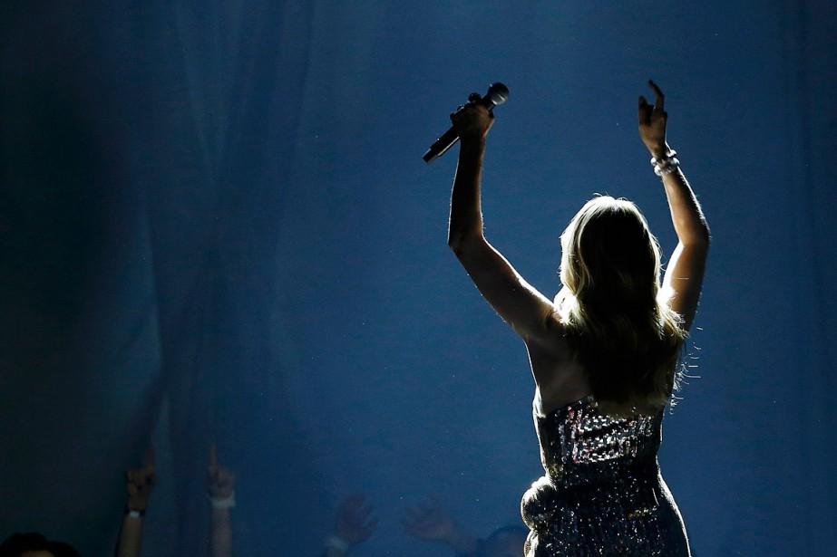 Céline Dion, lors desBillboard Awards à Las Vegas.... (Photo Mario Anzuoni, archives Reuters)