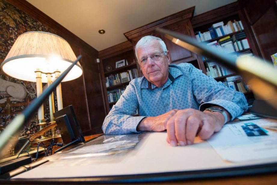 LeDr André Plante, ancien vice-doyen de la Faculté... (PHOTOJULIEN CHAMBERLAND,LA TRIBUNE)