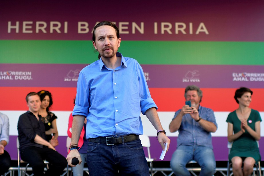 Selon les sondages, Unidos Podemos, coalition formée par... (Photo Vincent West, REUTERS)