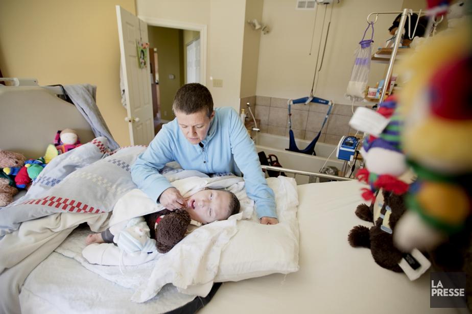 Les familles d'enfant lourdement handicapétoucheront 947$ par mois... (PHOTO ALAIN ROBERGE, ARCHIVES LA PRESSE)