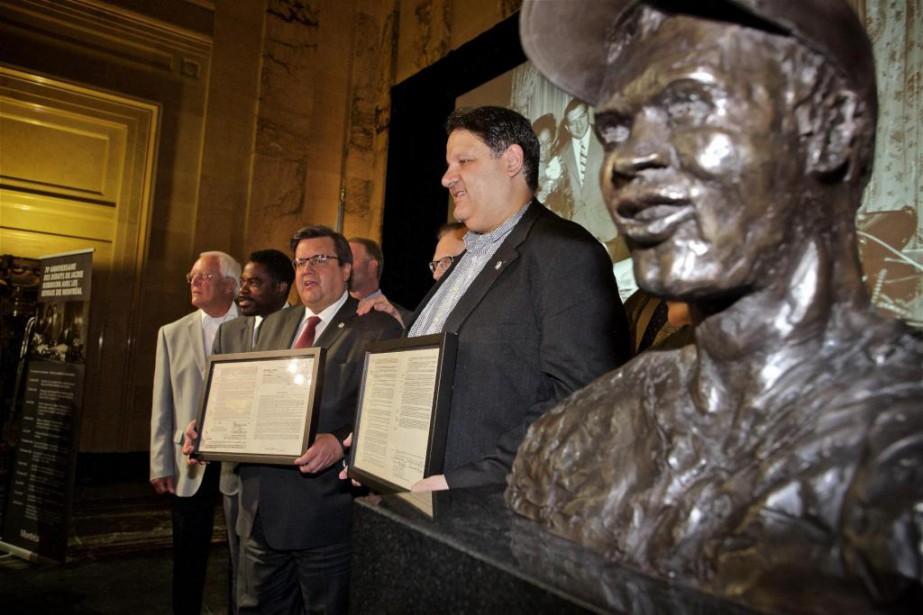 Mykalai Kontilai (à droite), fondateur et président de... (Photo André Pichette, La Presse)