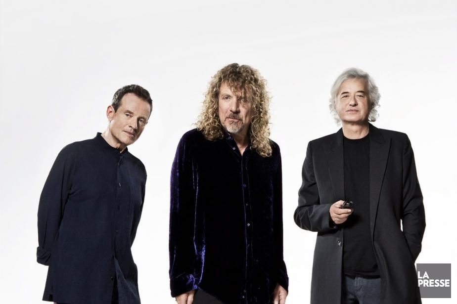 John Paul Jones, Robert Plant et Jimmy Page... (PHOTO FOURNIE PAR WARNER MUSIC)
