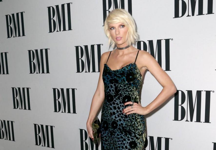 La chanteuse américaine Taylor Swift... (Photo John Salangsang, archives Associated Press)