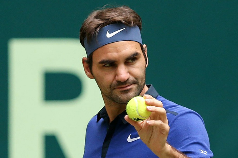 Roger Federer... (Photo Friso Gentsch, DPA via AP)