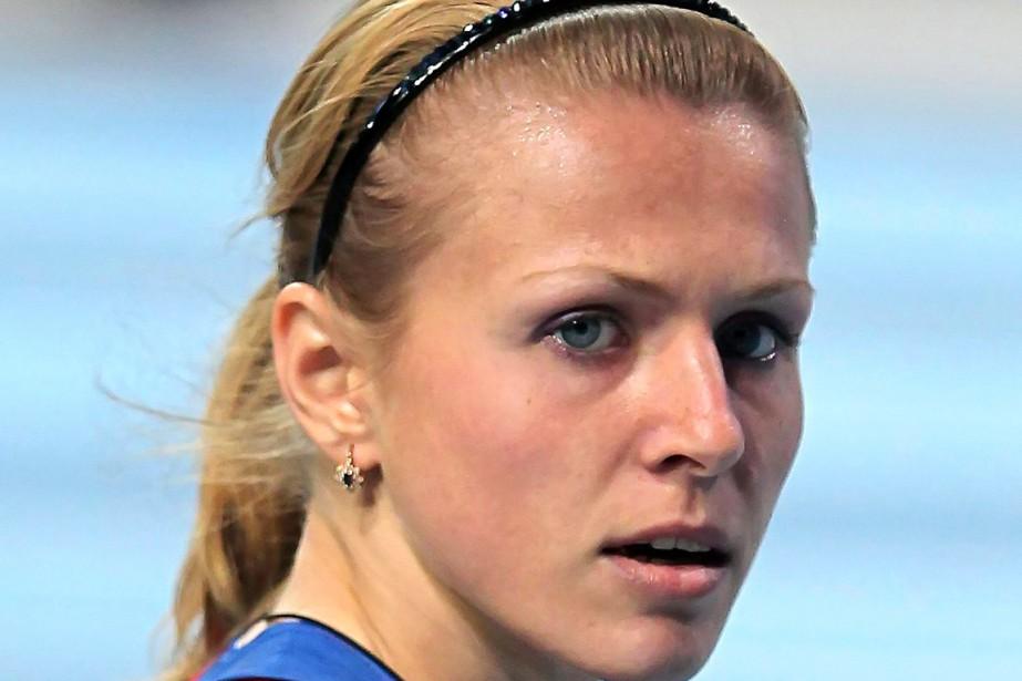 Yulia Stepanovaa purgé une suspension de deux ans... (PHOTO ALEKSANDER CHERNYKH, ARCHIVES AP)