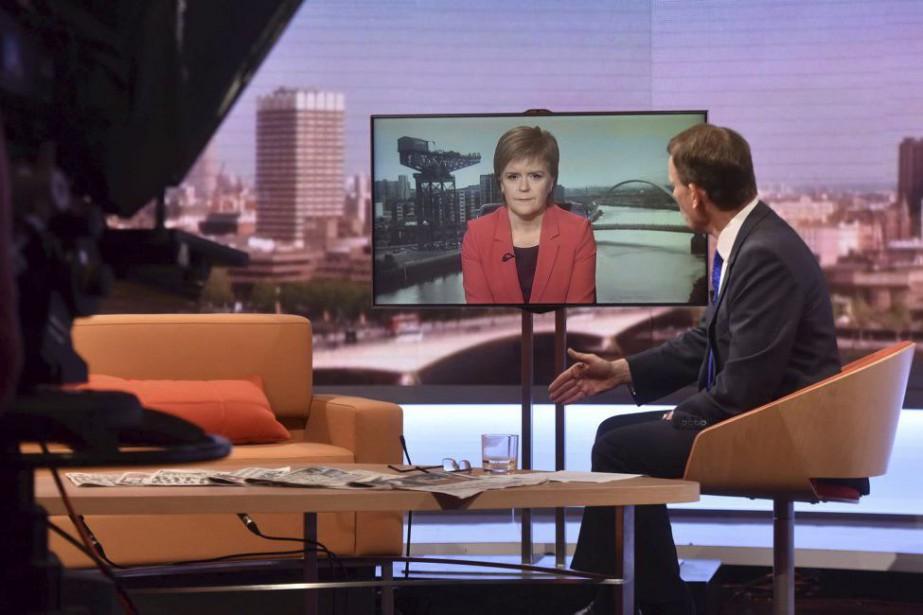 La première ministre de l'ÉcosseNicolaSturgeon a déclaré en... (PHOTO REUTERS)
