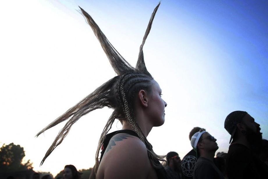 Des dizaines de milliers d'amateurs de rock ont envahi Montebello le week-end dernier. (Etienne Ranger, LeDroit)