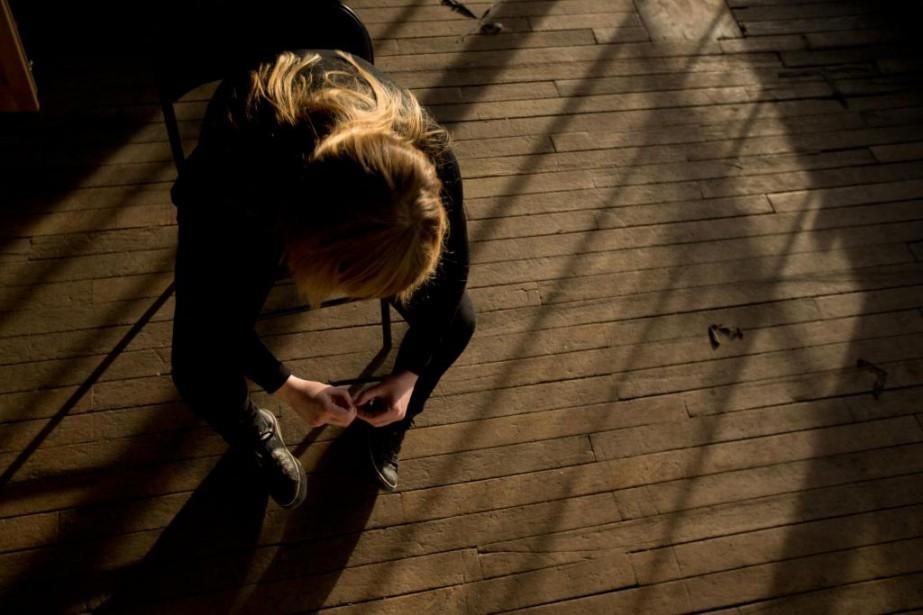 «La dépression existe. Elle ne porte pas un... (PHOTO OLIVIER JEAN, ARCHIVES LA PRESSE)