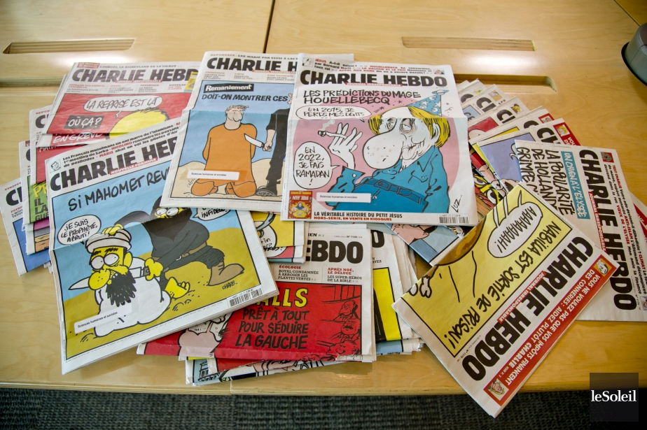 Charlie Hebdo, qui estime que la laïcité... (Photo Archives Le Soleil)