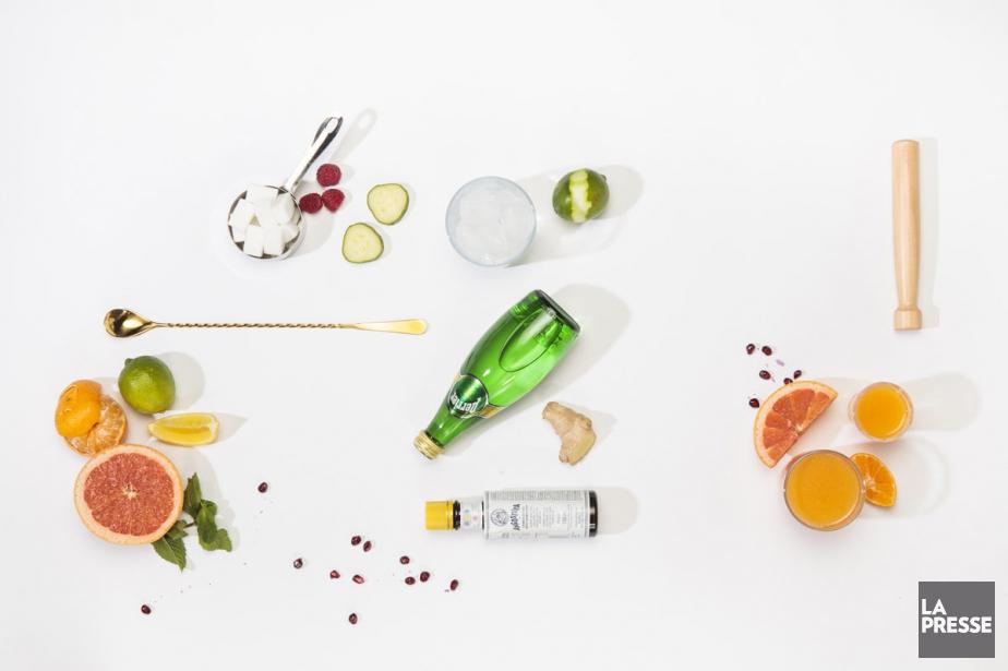 Concombre du jardin, petits fruits... (PHOTO HUGO-SÉBASTIEN AUBERT, LA PRESSE)