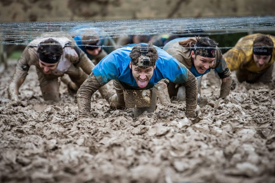 De plus en plus d'amateurs de sensations fortes... (Photo tirée du site spartanrace.com)