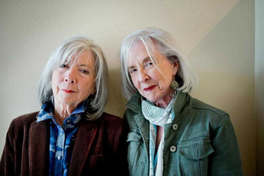 Anna et Jane McGarrigle racontent leurs histoires de... (Photo Marco Campanozzi, La Presse)