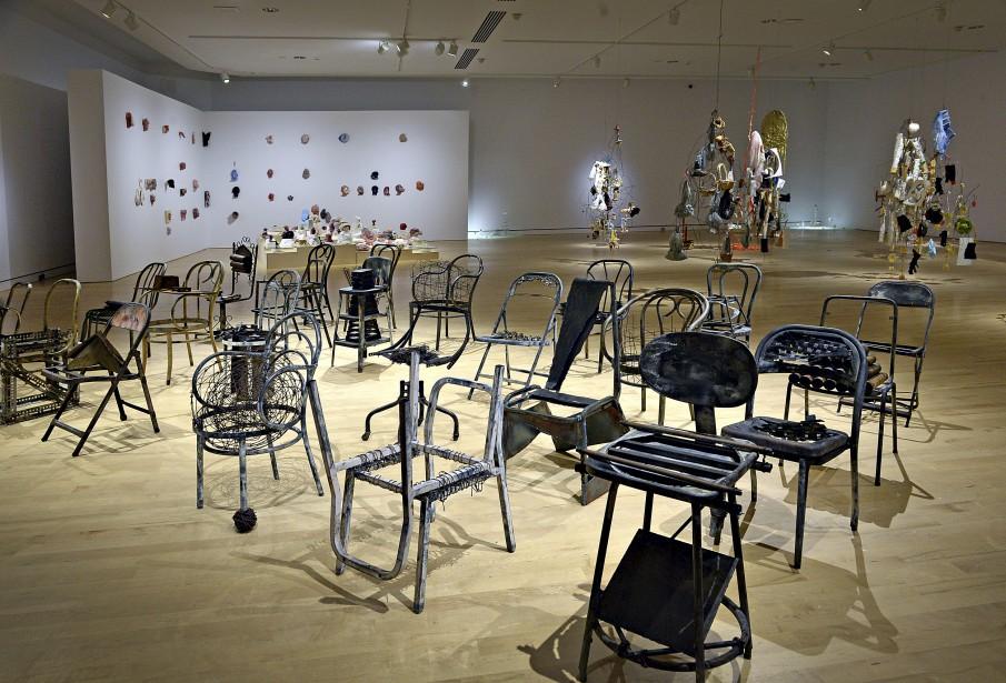 La salle de classe inusitée de Michel Goulet (Le Soleil, Patrice Laroche)