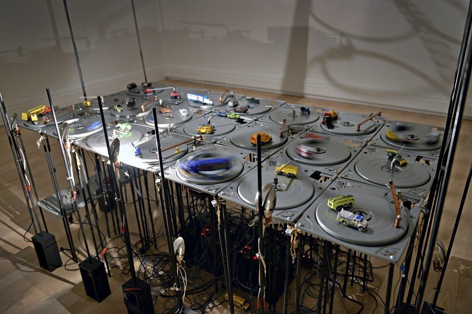 L'installation de Diane Landry (Le Soleil, Patrice Laroche)