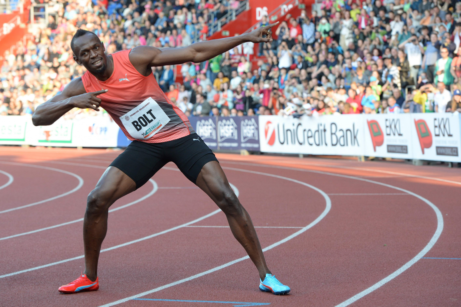 Usain Bolt... (Photo AFP)