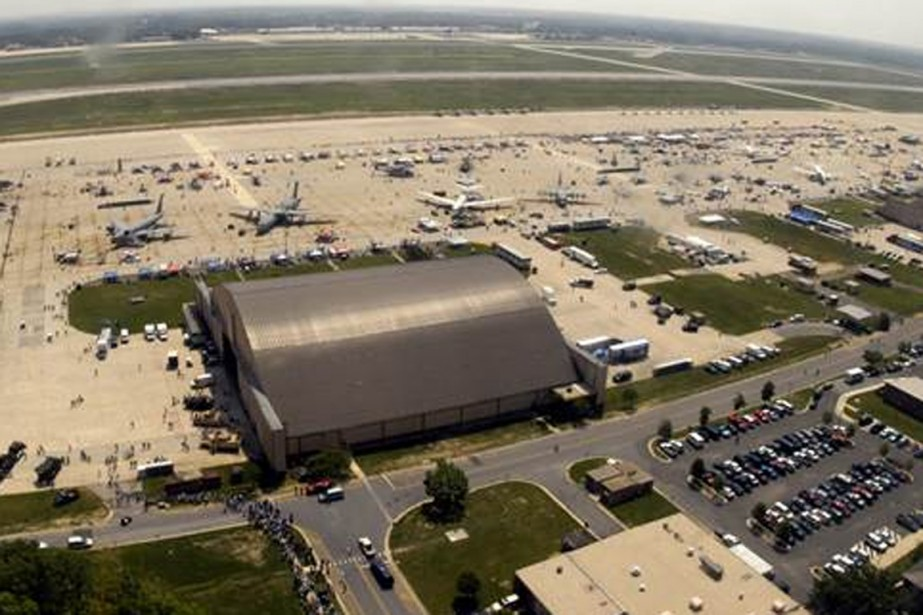 La base Andrews Air Force, dans le Maryland.... (PHOTO FOX NEWS/TWITTER)