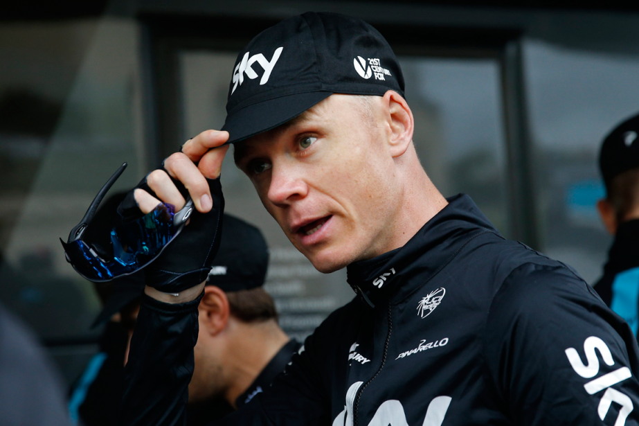 Chris Froome tentera dedevenir seulement le huitième cycliste... (Photo Christophe Ena, AP)