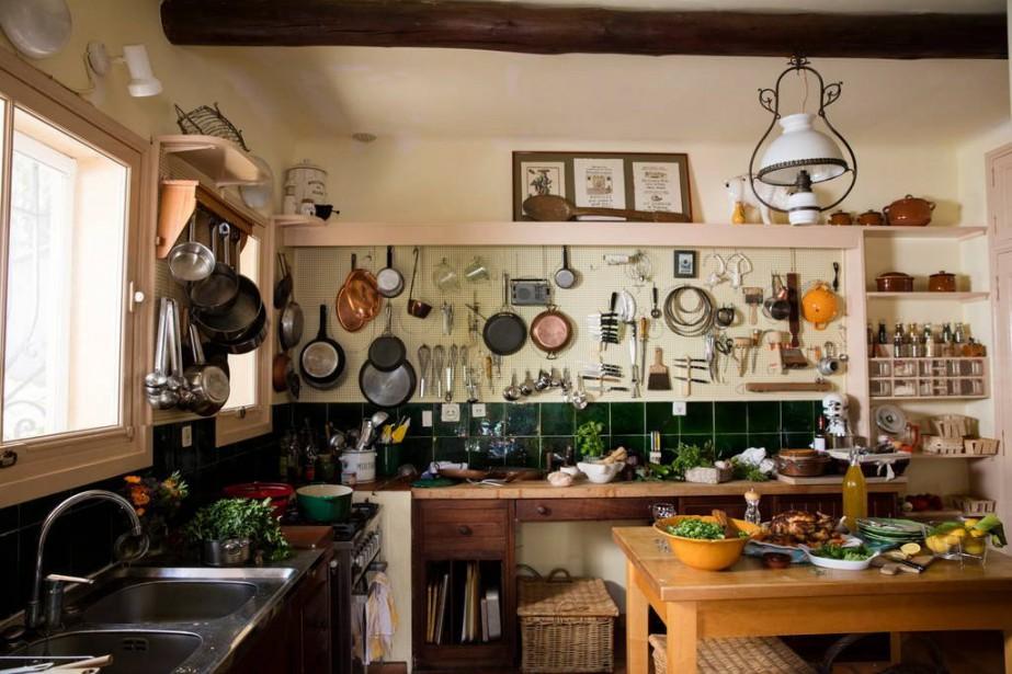 Dans la cuisine, une caméra cachée a été... (Photo tirée d'Airbnb)