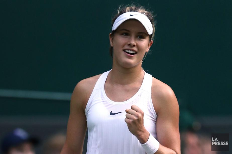 Eugenie Bouchard a défait en trois manchesla Britannique... (Photo Justin Tallis, AFP)